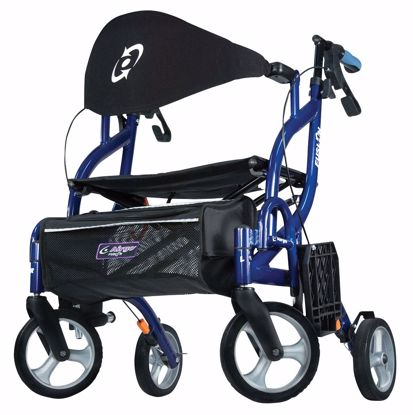 Picture of Airgo Fusion F20 Side-Folding Rollator & Transport Chair