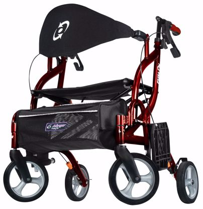 Picture of Airgo Fusion F18 Side-Folding Rollator & Transport Chair