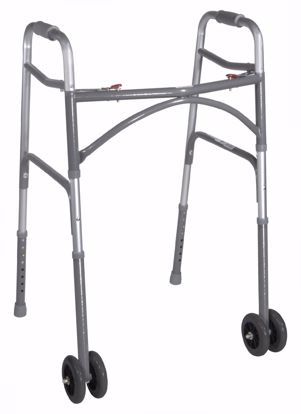Picture of Bariatric Aluminum Folding Walker, Two Button