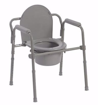 Picture of FOLDING STEEL COMMODE