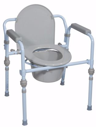 Picture of FOLDING STEEL COMMODE, RETAIL