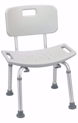 Picture of DELUXE ALUMINUM SHOWER CHAIR