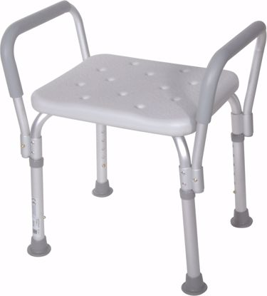 Picture of SHOWER BENCH WITH REMOVABLE PADDED ARMS