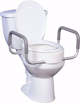 Picture of Premium Raised Toilet Seat with Removable Arms